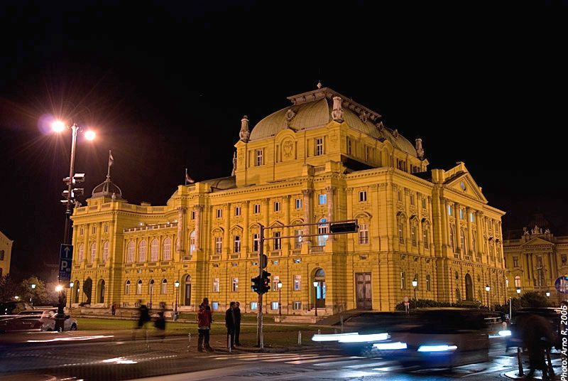 Croatia National Theater In Zagreb Http Wanderingtrader Com Travel Blog Croatia Travel Blog Things To Do In Croatia Croatia Travel Croatia Croatia Vacation