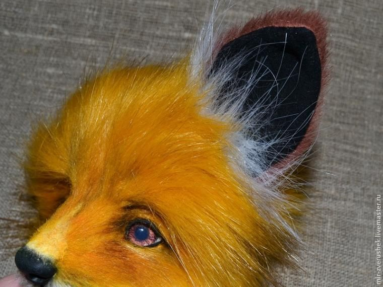 Coudre les oreilles de renard, qui ne peuvent être distingués de la vraie chose - Maîtres - Foire à la main, main
