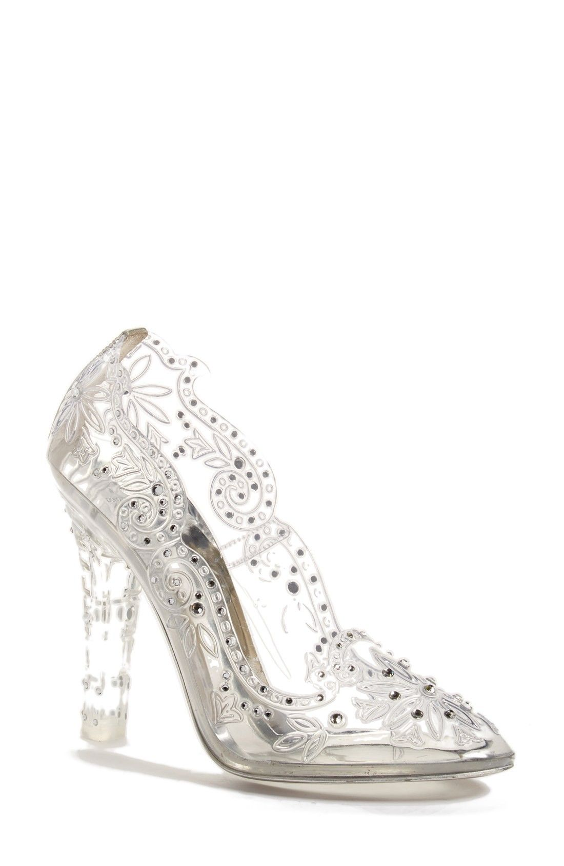 Glass Slipper Pump Wedding Shoes By Dolce Gabbana Affiliate Footwear Design Women Glass Shoes Glass Slipper