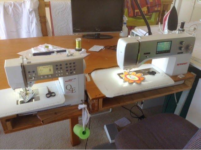 Deborah Louie Domestic Machine Quilting Tutor