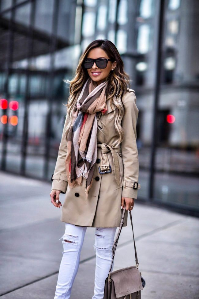 6d2a2ba2e2 Classic Spring Outerwear - Burberry Trench    Burberry Scarf    Saint  Laurent Sunglasses    Christian Louboutin  So Kate  Heels    Chloe Faye Bag     Similar ...