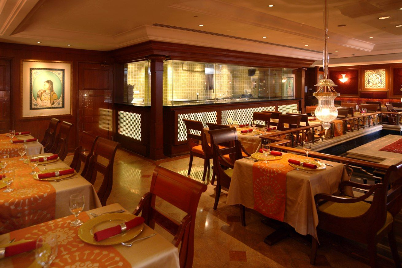 Indian restaurants interior design indian restaurant for Interior decoration pictures of restaurant