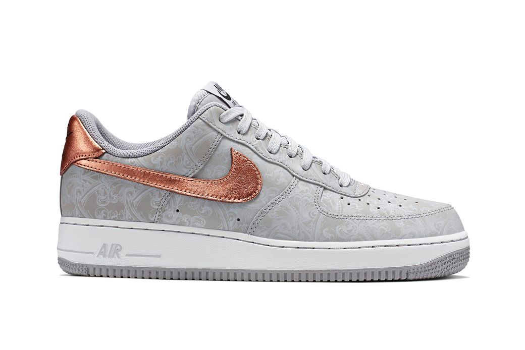 the cheapest buy good best online Nike Air Force 1 LV8 Wolf Grey/White-Metallic Red Bronze ...