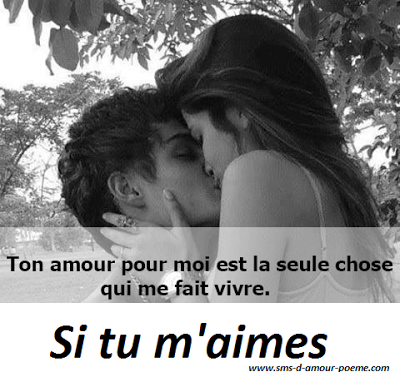 Si Tu Maimes Tu Trouveras Les Poèmes Damour Qui Me Donneront