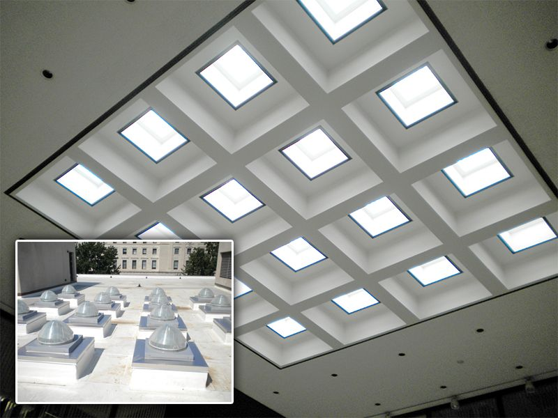 Daylighting The An Office With Solatube Quot Solatube