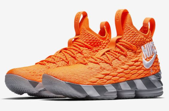 Did You Cop The Nike LeBron 15 Orange Box? The latest from the LeBron Watch  Program is this very exclusive Nike LeBron 15 Orange Box that… | Pinteres…