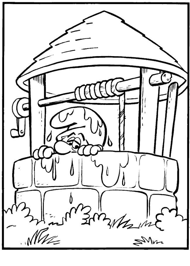 coloring page Smurfs - Smurfs | Smurfs | Pinterest