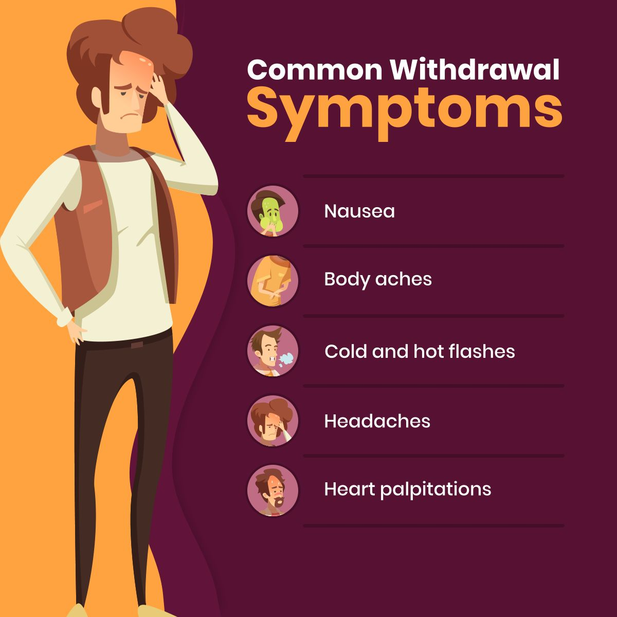 Common Withdrawal Symptoms #TAJTreatmentCentersInc # ...