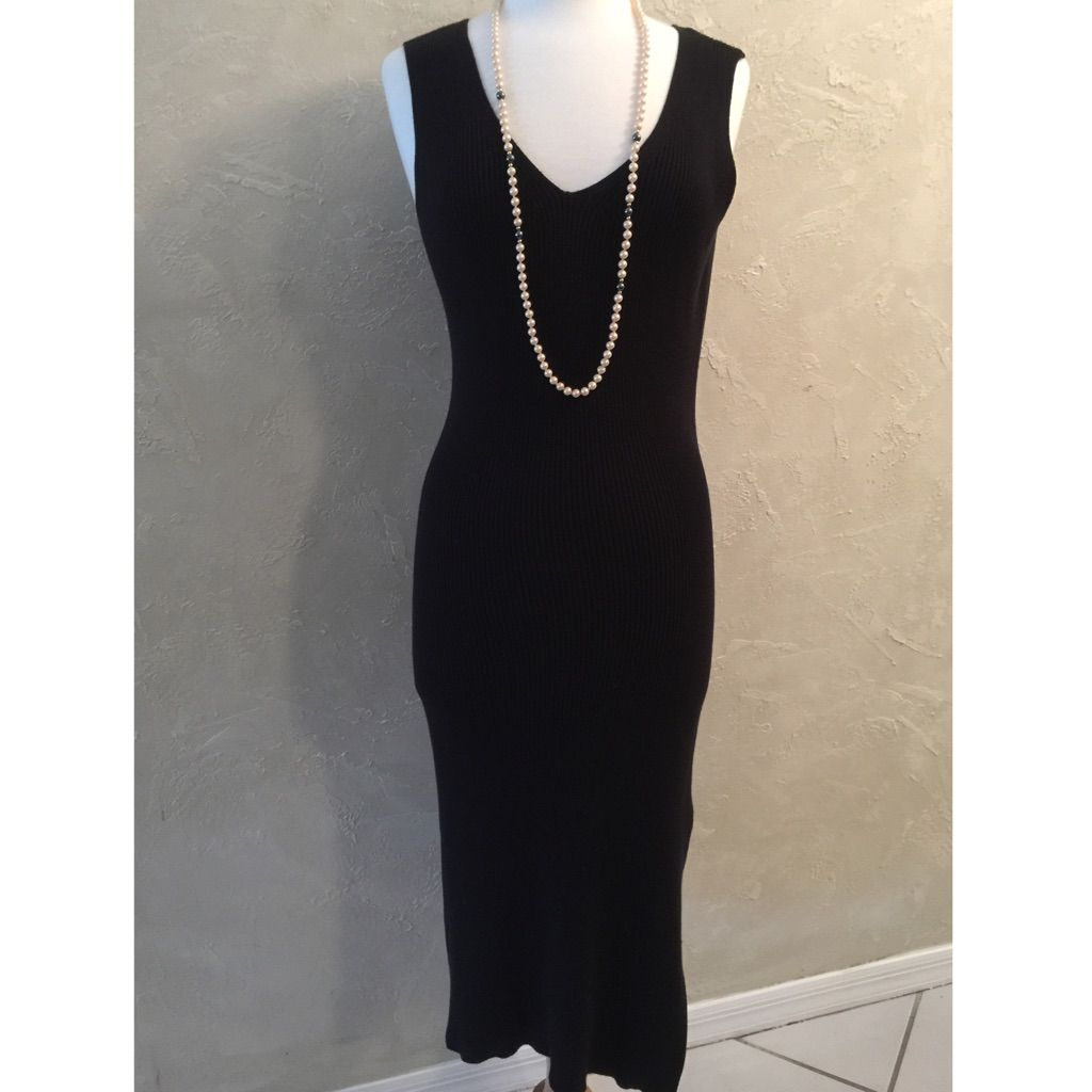 Reduced classic knit maxi dress products