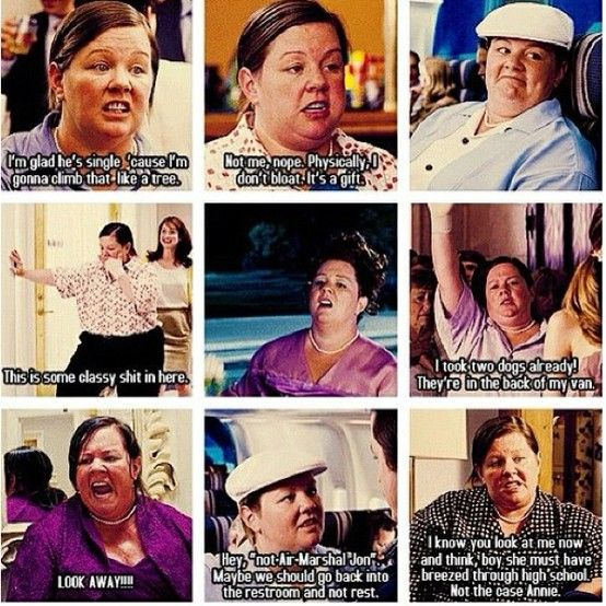 Some of Megan's greatest quotes from Bridesmaids Little