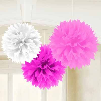Great idea! You can use these decorations for almost any party. Girl baby shower, girl birthday party, almost anything!