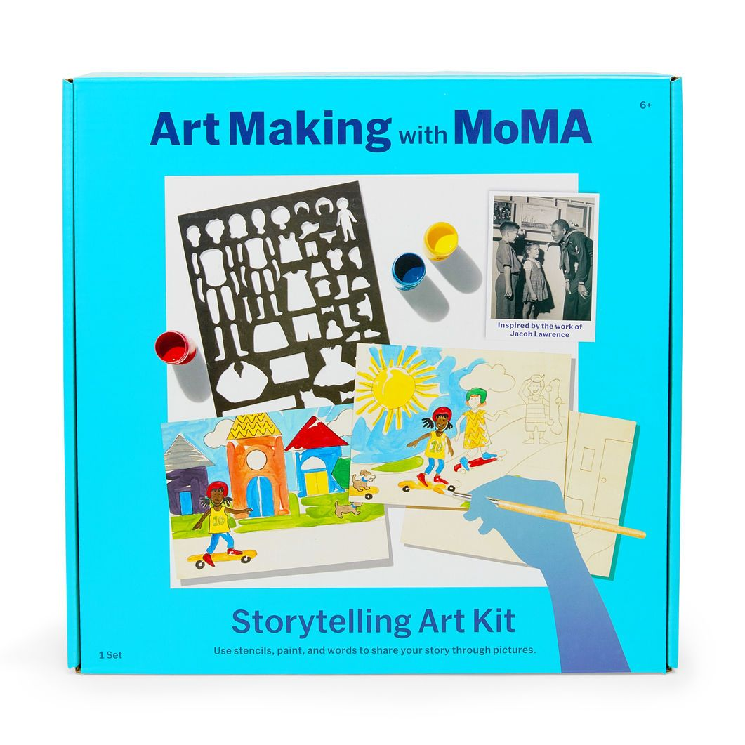 Art Making With Moma Storytelling Art Kit Tots And Kids