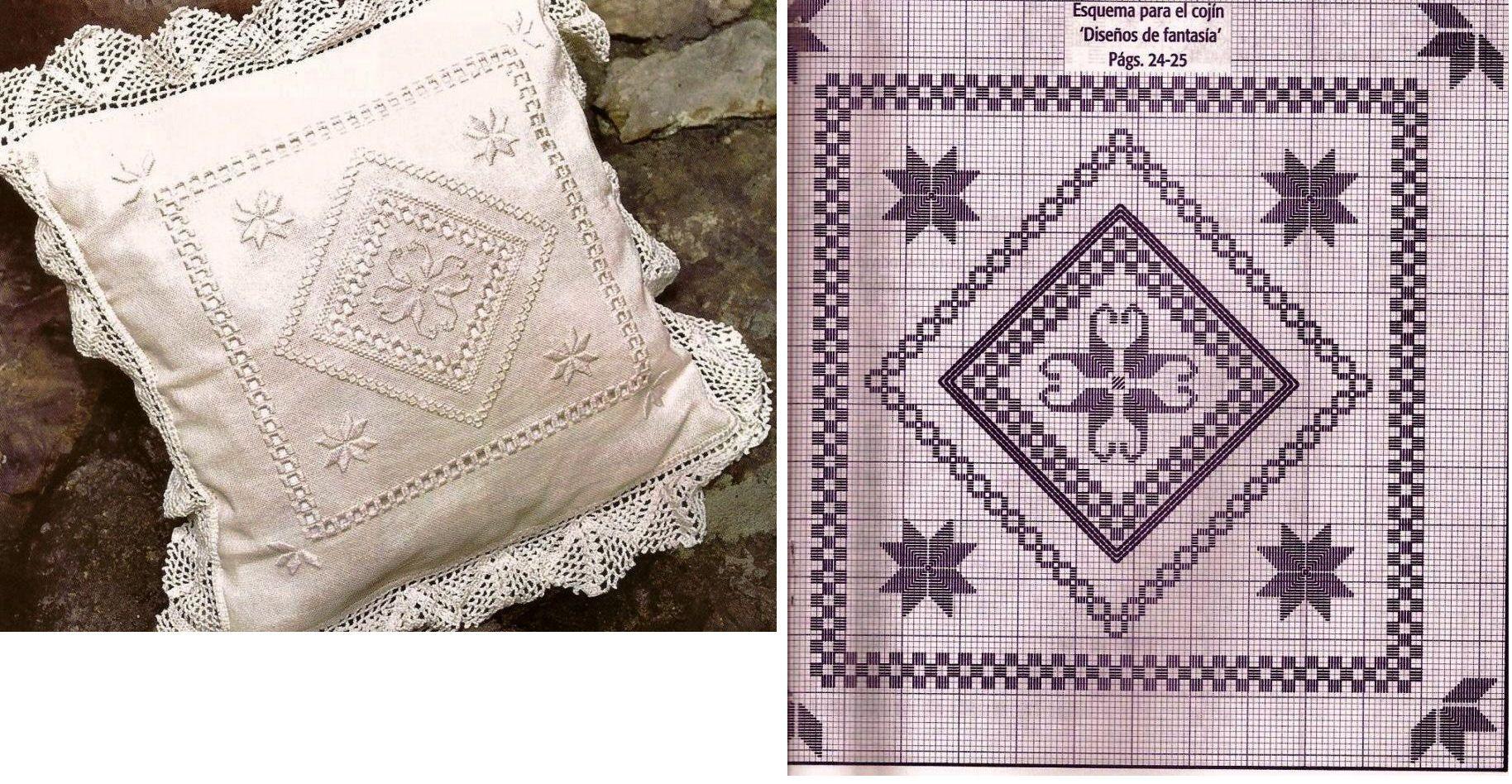 Bordados Faciles Punto Noruego | Bordado Noruego | Pinterest ...