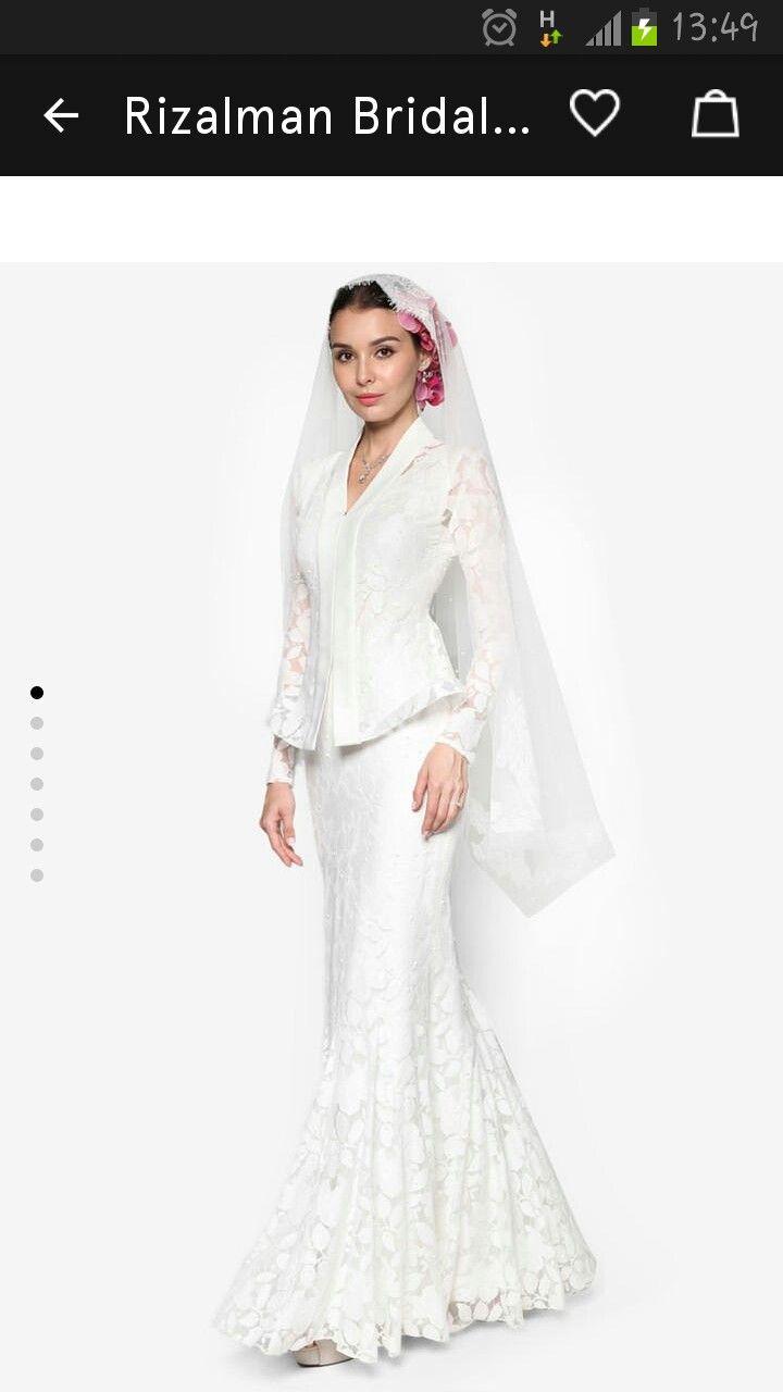 Rizalman S Bridal Collection Malay Wedding Dress In 2019 Malay