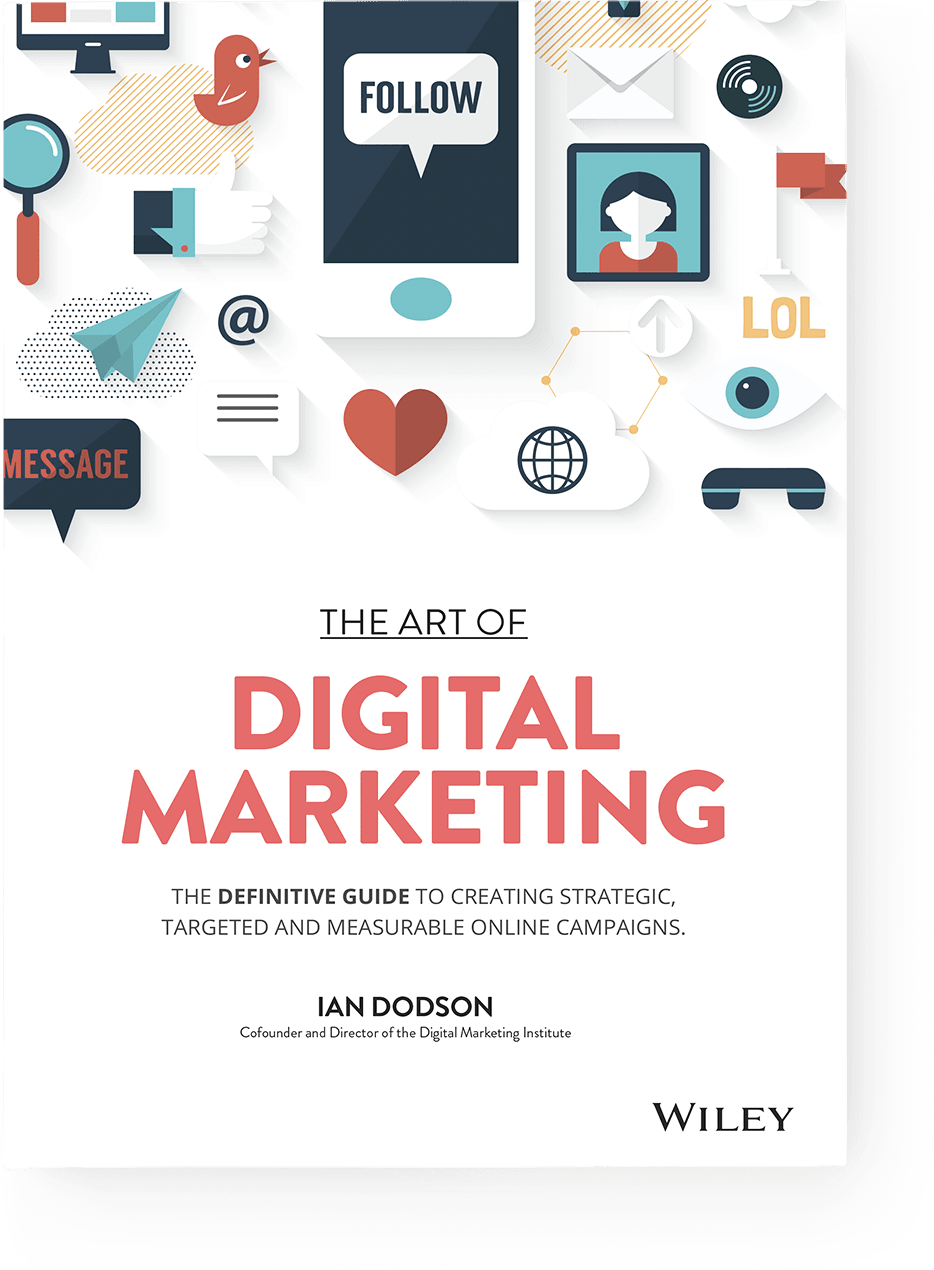 Book cover the art of digital marketing the definitive guide to book cover the art of digital marketing the definitive guide to creating strategic fandeluxe Image collections
