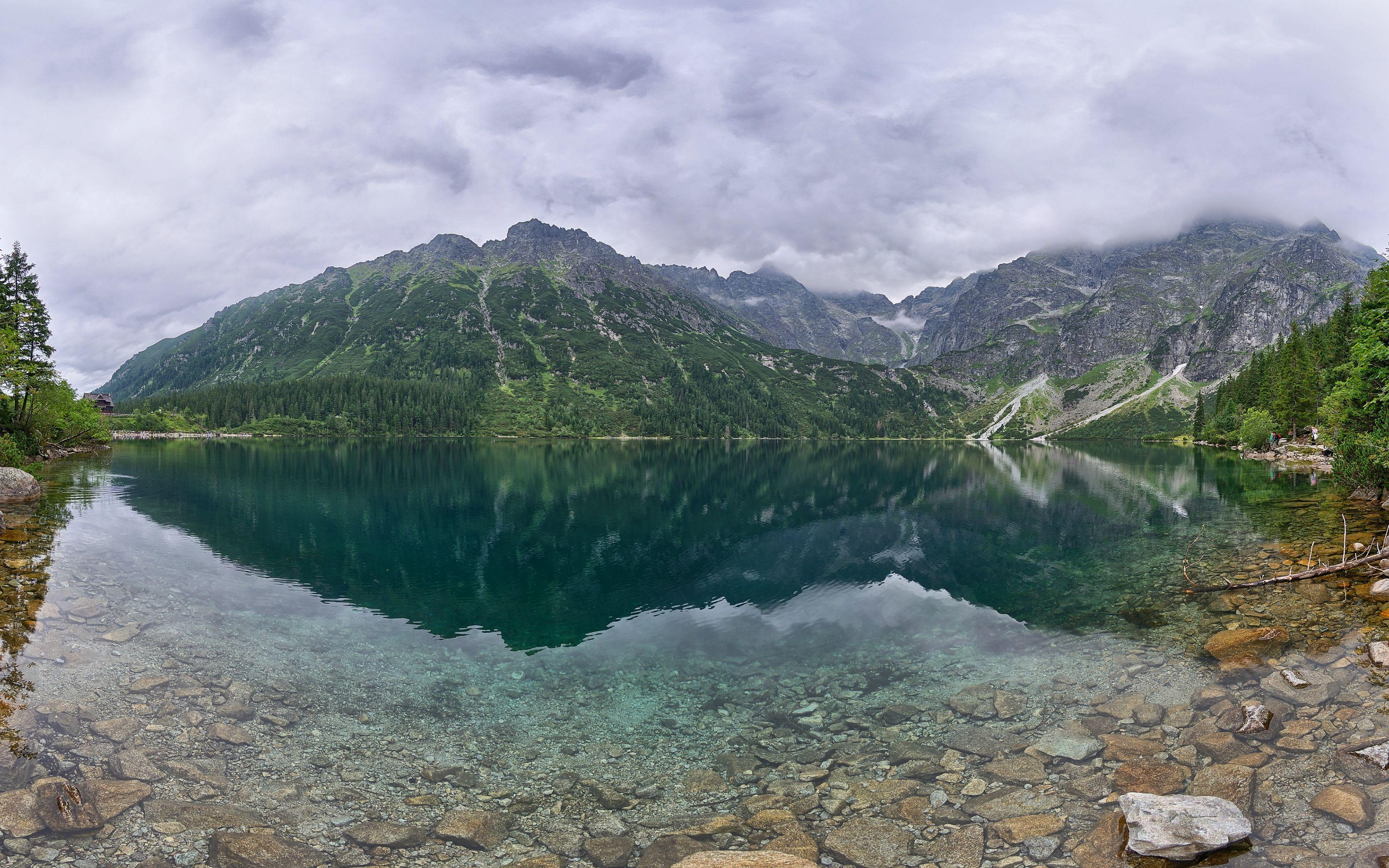 Panoramic Wallpaper Windows 7 3456x2160 Nature Wallpaper Mountain Landscape Mountain Background
