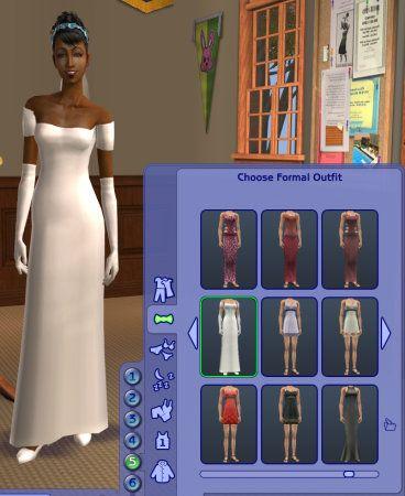 Amazing missing default wedding dress