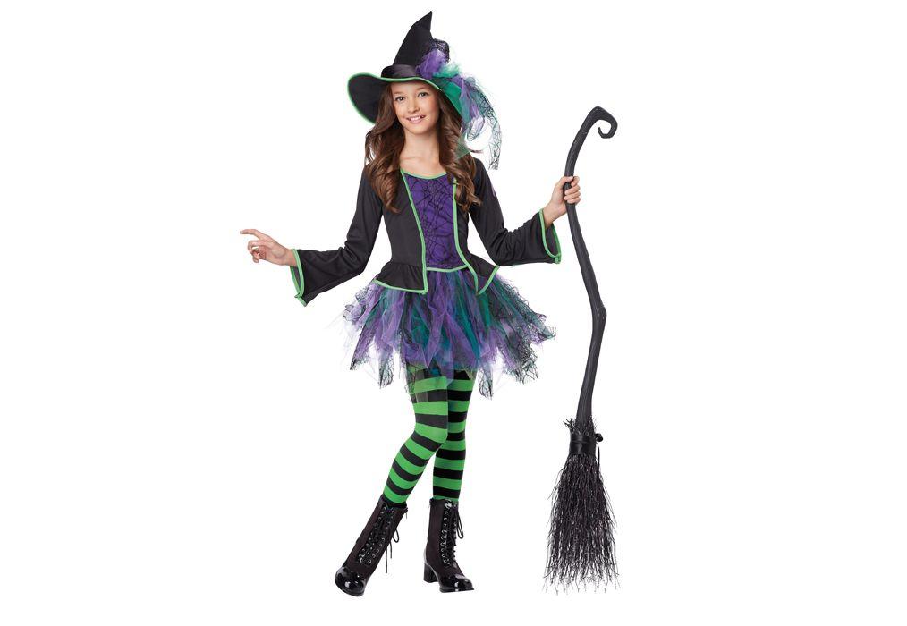 """Costume pour enfants /""""noire sorcière/"""" CARNAVAL HALLOWEEN"""