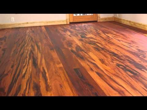 Tigerwood Solid Hardwood Flooring