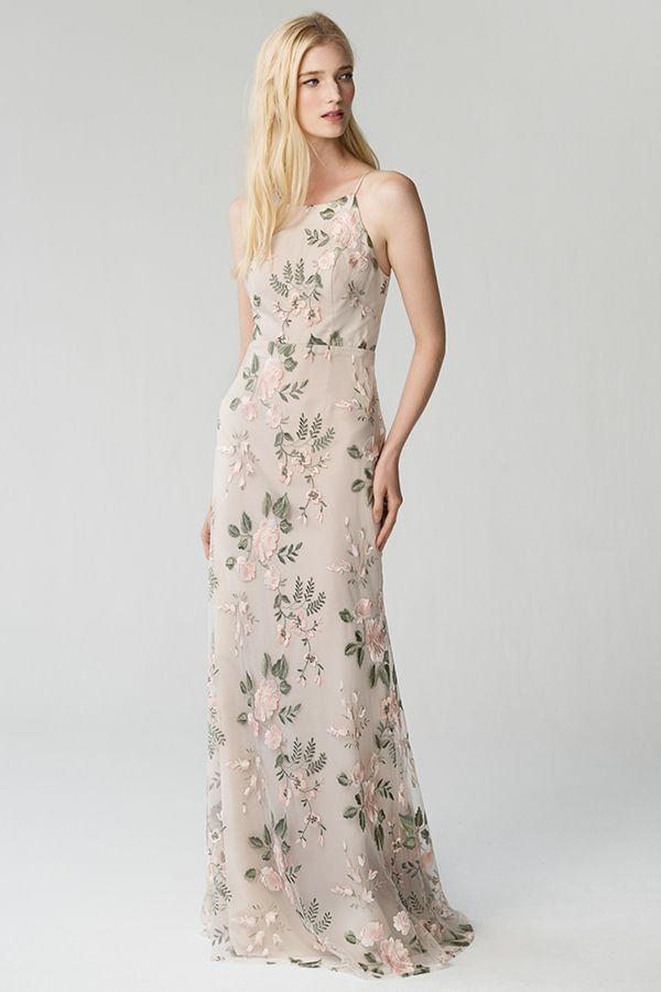 ef14d3a77ef25 ALEX- Jenny Yoo Claire. Berry Vintage Iris Printed Bridesmaid Dresses, Bridesmaid  Flowers ...
