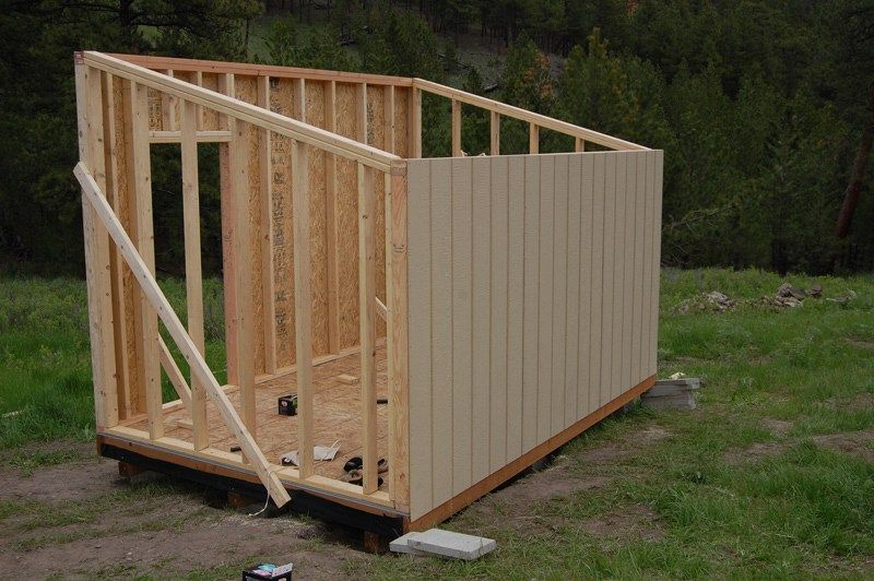 How to build a cheap storage shed garden pinterest for Affordable storage sheds
