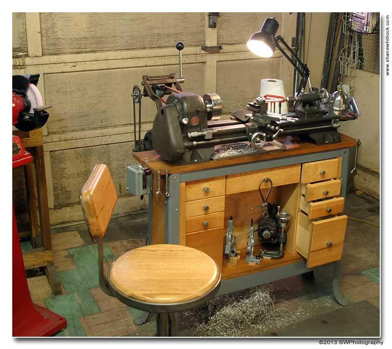 Atlas 618 Metal Lathe Vintage Machines Pinterest