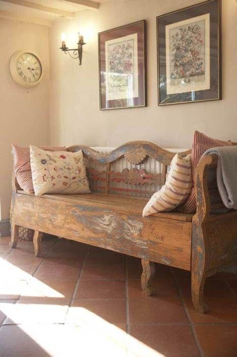 Great bench! | RUSTICO | Pinterest | Bancos, Sillones y Sillas