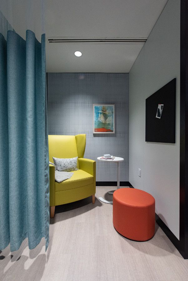 Recovery Room Design: Bridging Visual Continuity From The Lobby And Waiting Room