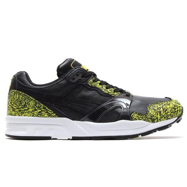 #Puma XT2+ Snow Splatter Black/Green #sneakers