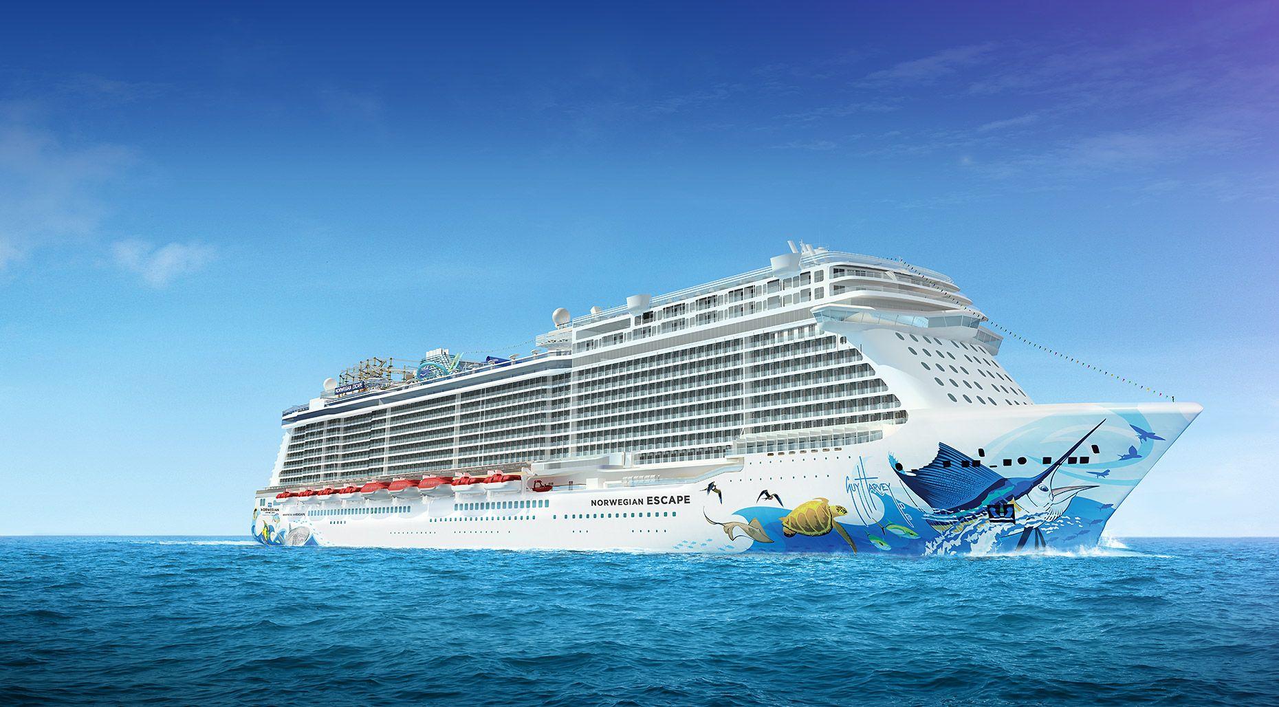 Do You Love To Cruise New Cruise Ship Norwegian Escape Departing - How do cruise ships work