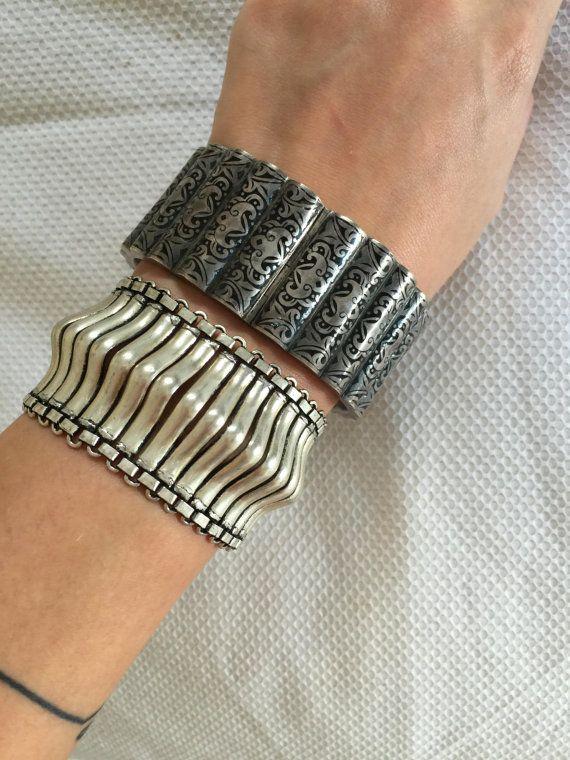 Argento braccialetto da condizione Mint di 1960 di MAZANSI su Etsy
