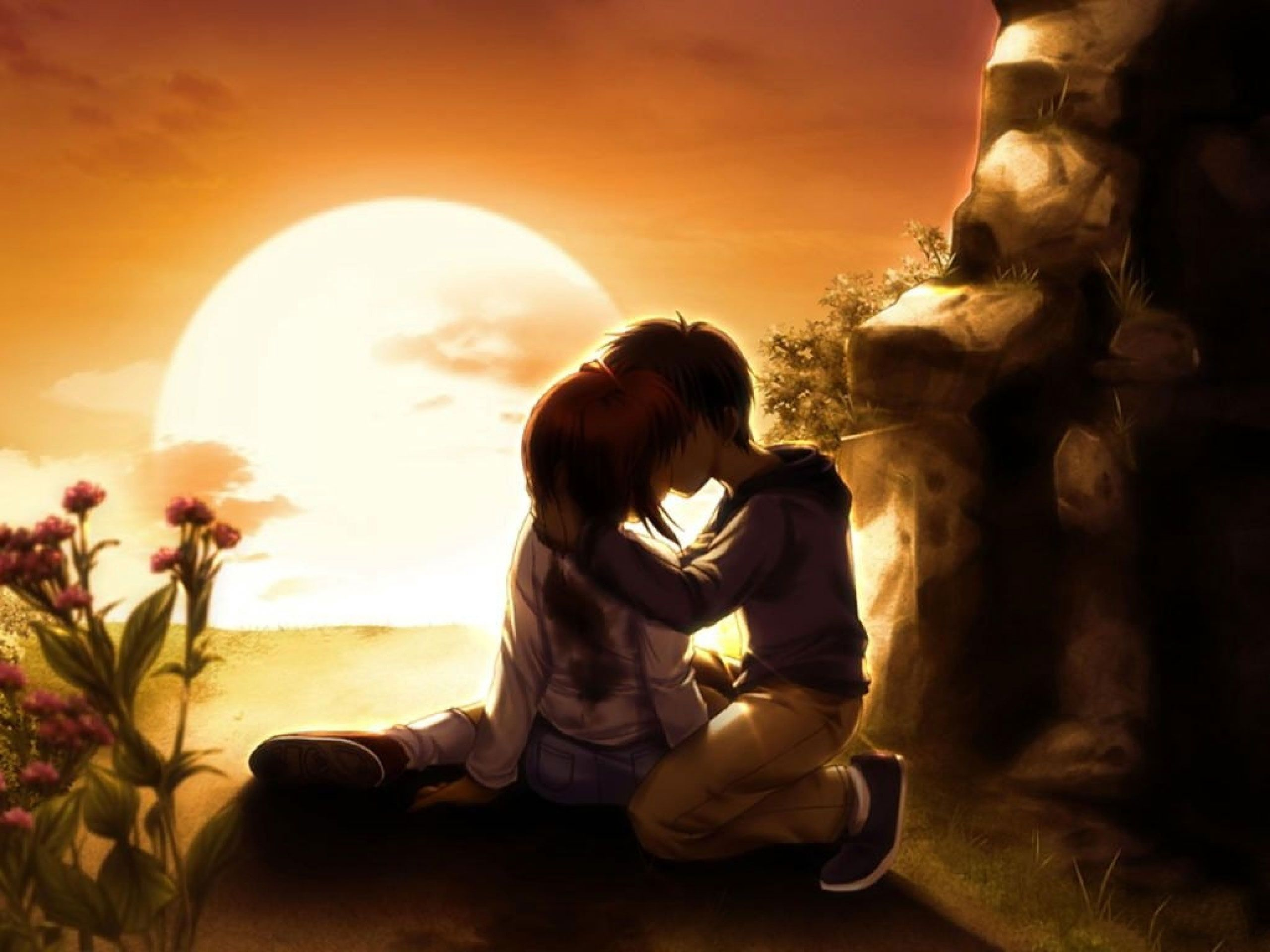 Love couple Painting Wallpaper : love wallpapers best Really funny pictures And Wallpapers HD Wallpapers Pinterest ...
