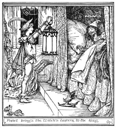 Pinkel the Thief - The Orange Fairy Book by Andrew Lang, 1906