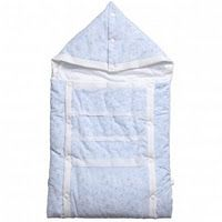 Bunting Bag for Baby Knitted White One Piece Cozy Sleeping Bag for Bassinet OS