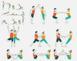 want some free yoga exercises  partner yoga partner