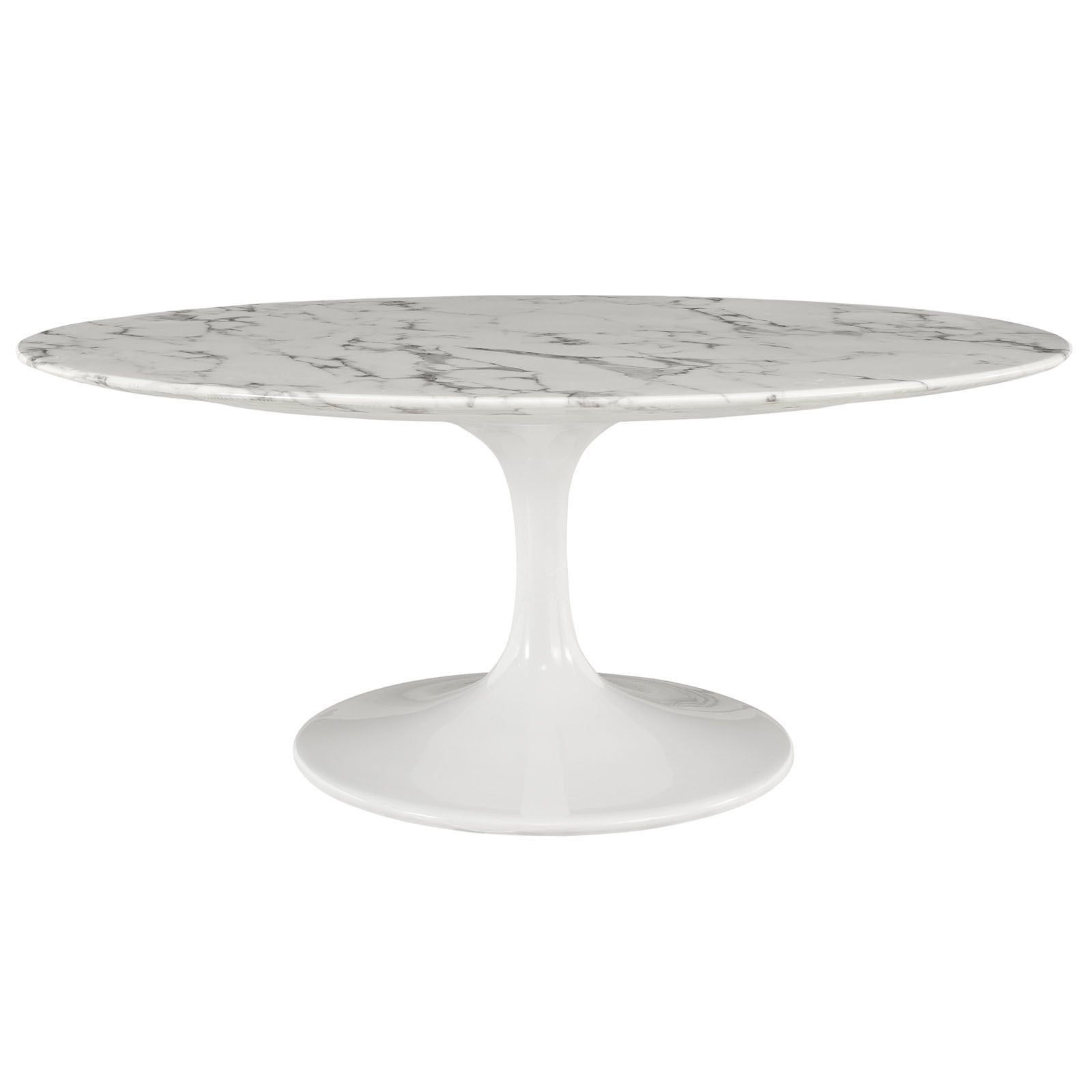 Saarinen Tulip Style 42 Oval Shaped Cultured Marble Coffee Table In W Oval Coffee Tables Coffee Table White Tulip Coffee Table [ 1600 x 1600 Pixel ]