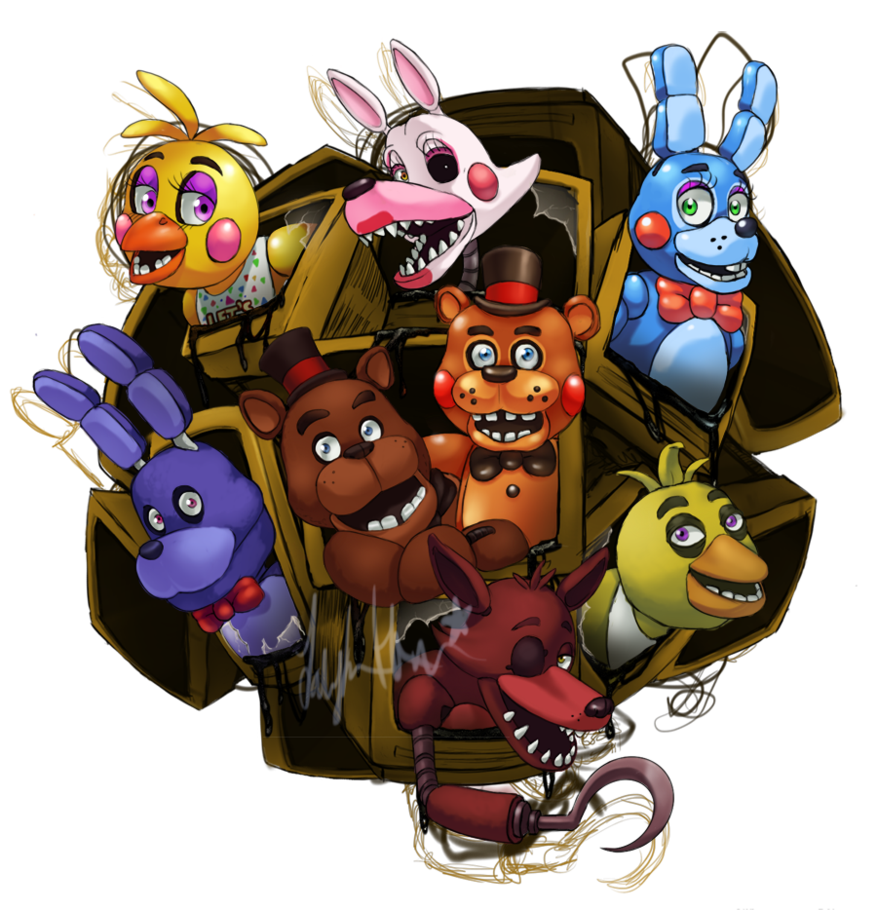 Five Nights At Freddy S 2 By Scittykitty On Deviantart