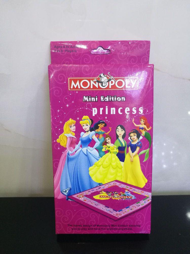Brand New Monopoly Board Game Mini Edition Princess