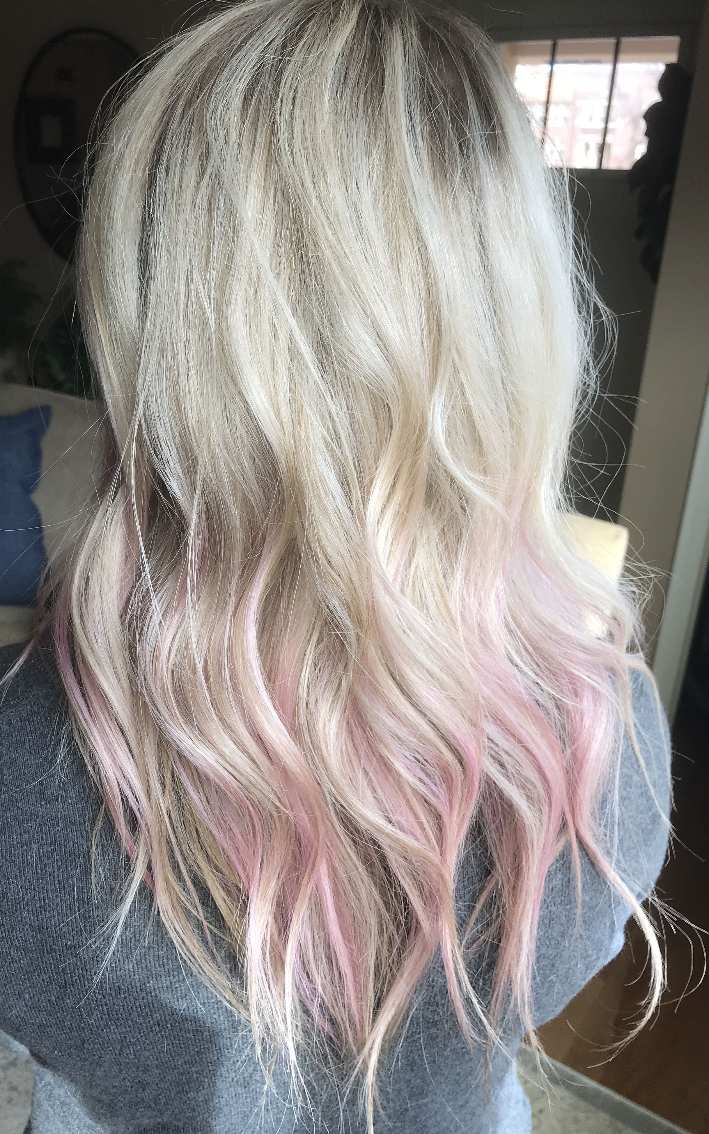 Pin By Kylie Atkinson On Hair Pink Blonde Hair