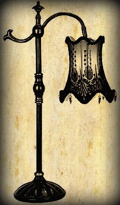 Gothic Lamp♤/shade Interesting