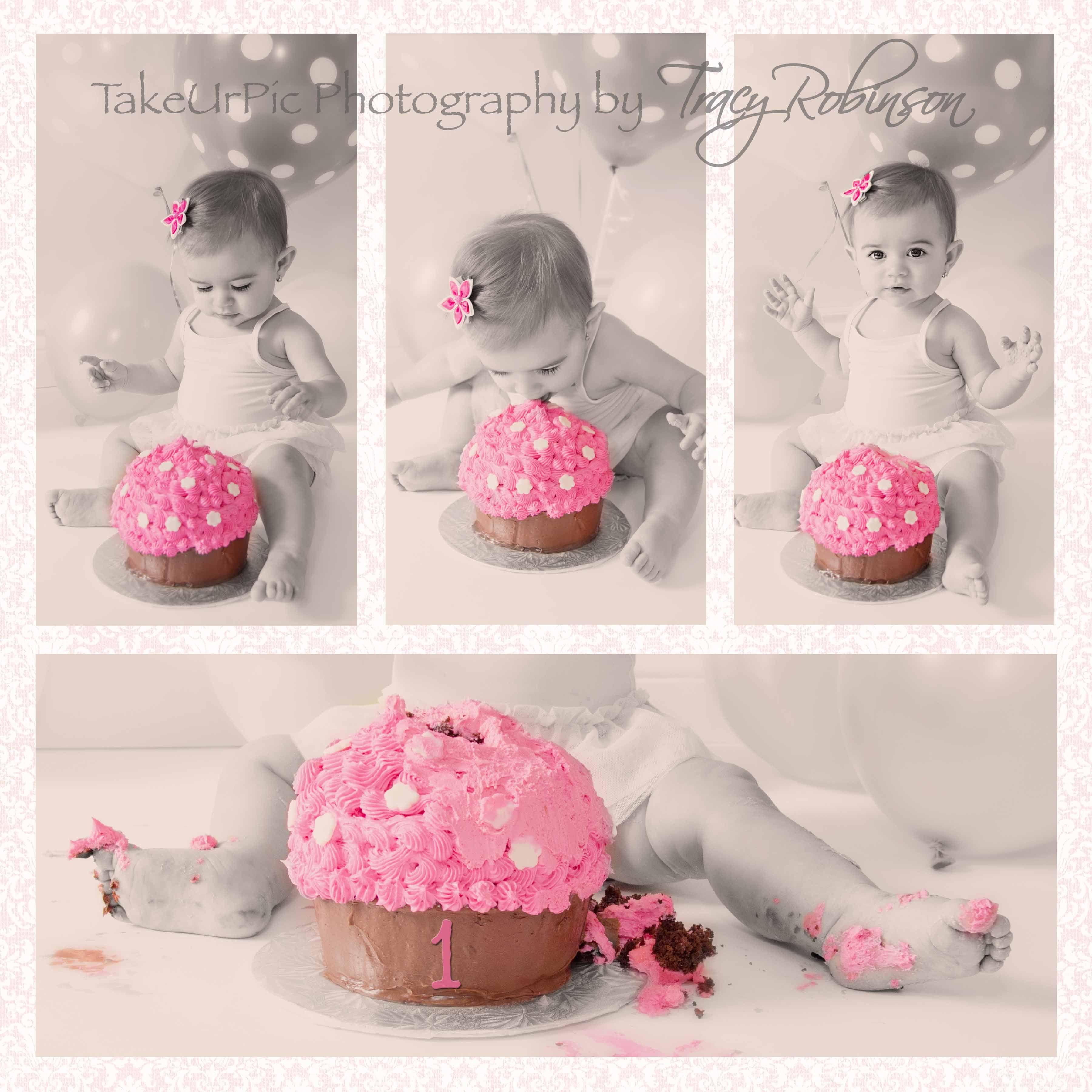 Cake Smash Princess Kens Big First Birthday For Sure