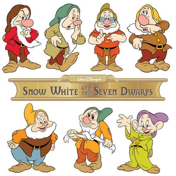 Disney Blancanieves Y Lo 7 Siete Enanos Hierro En Camisa Enanos De Blancanieves Blancanieves Y Los Siete Enanitos Dibujos De Enanos