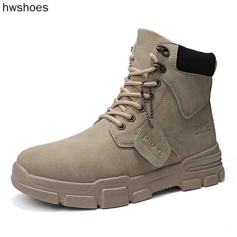 Pengiriman Luar Negeri 7 10 Hari Sepatu Boots Pria Import