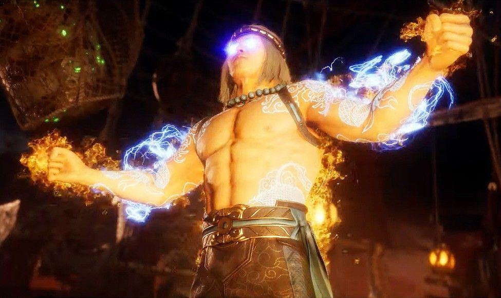 Liu Kang Tattoo: Fire God Liu Kang Mortal Kombat 11