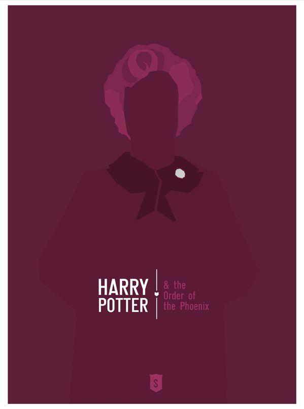 "Order of the Phoenix - ""Harry Postters"" by Hexagonall , via Behance"