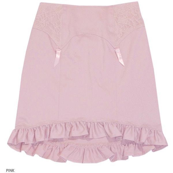 CORSETTI garter mini ❤ liked on Polyvore featuring skirts, mini ...