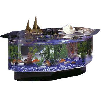 Midwest 28 Gallon Tropical Aquatable Aquarium Octagon Petco In 2020 Fish Tank Coffee Table Aquarium Coffee Table Fish Tank Table
