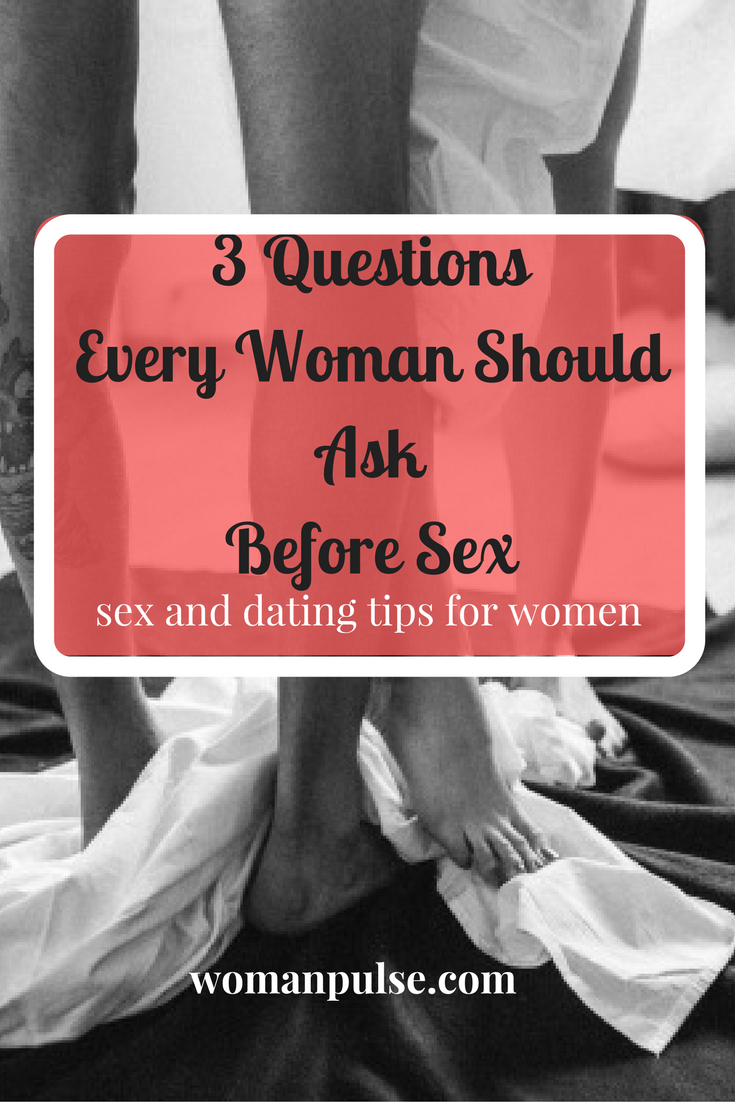 Tips before sex
