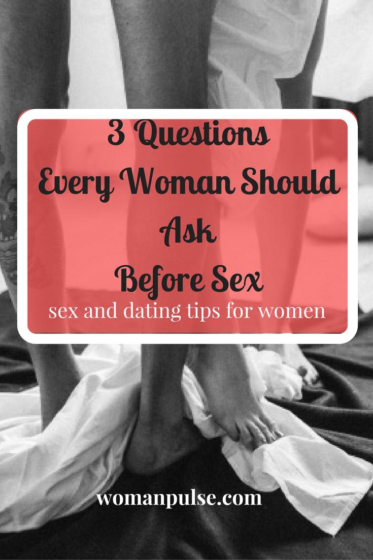 Having sex before dating