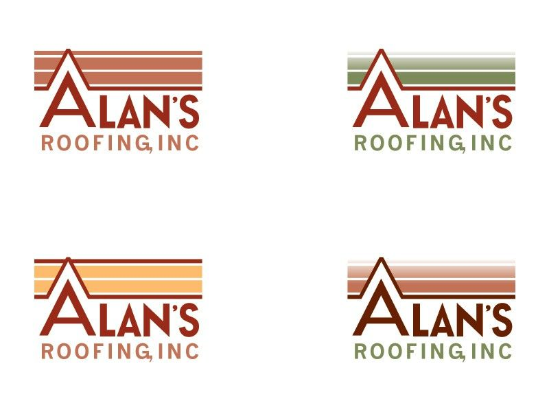 Roofing Company Needs a Logo by carlhuber